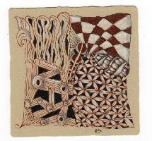"""Zentangle Renaissance Tiles"""